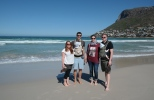 Freunde in Fish Hoek