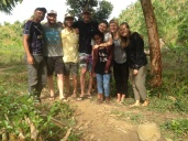 Das Jungle-Team, Toky, ich, Curtis, Beau, Mami, Isabella, Cindy, Ava